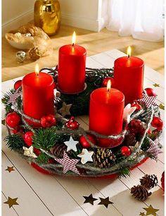 The Advent wreath: the symbol of a fairy-tale holiday season Christmas Advent Wreath, Noel Christmas, Simple Christmas, Advent Wreaths, Nordic Christmas, Modern Christmas, Christmas Christmas, Christmas Ideas, Christmas Tablescapes
