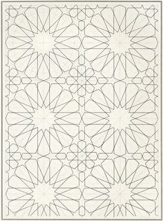 BOU 129 : Les éléments de l'art arabe, Joules Bourgoin | Pattern in Islamic Art