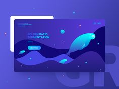 Golden ratio segmentation dribbble web design inspiration, u Web Layout, Layout Design, Ux Design, Branding Design, Creative Design, Website Design Inspiration, Graphic Design Inspiration, Webdesign Inspiration, Ui Web