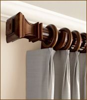 56 Best Drapery Rods Images In 2019 Cafe Curtain Rods