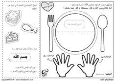 رياض الجنة أحاديث نبوية ياغلام سم الله Ramadan Activities, Preschool Learning Activities, Teaching Kids, Baby Learning, Airplane Coloring Pages, Learn Arabic Online, Arabic Alphabet For Kids, Arabic Lessons, Islam For Kids