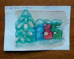 "185 день рисования на чайных пакетиках. ""185 под снегом"" :)/акварельные карандаши, линеры/ #365чай#365чай_ладаяцына#teabag Tea Bag Art, Artwork, Painting, Work Of Art, Auguste Rodin Artwork, Painting Art, Artworks, Paintings, Painted Canvas"