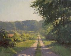 Gorgeous painting by Mark Hanson. Was there to see him win Best of Show at the 2012 Door County Plein Air Festival.