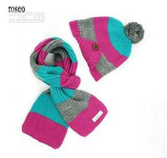 e289ffe8663 Yonger Winter Baby Boys and Girls Kid Hat Wool Knitted Crochet Beanie Cap  Scarf Set