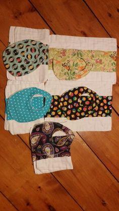 Baby bibs and burp cloths