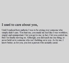 #usedtoloveyou #iusedtoloveyou #narcfree #qotd #quotes #narcopath #quote #nocontact #narcissist #narcissisticabuse #ptsd #emotionalabuse #physicalabuse #verbalabuse #psychopathfree #psycho #psychopath #recovery #survivor