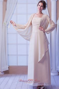 Daffodil Embroidery/Sequins Zipper Strapless Long A-line Chiffon Sleeve Natural Floor-length Elegant Mother Of Bride Dress Mother In Law Dresses, Mothers Dresses, Cheap Evening Dresses, Long Wedding Dresses, Summer Dresses, Kate Middleton Mother, Dress P, New Dress, Champagne Bridesmaid Dresses