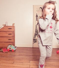 Pyjama party ! Discover the new pajama of the irresistible Agatha !  Soon in store !  Découvrez le pyjama de l'irrésistible Agathe ! Bientôt en magasin !