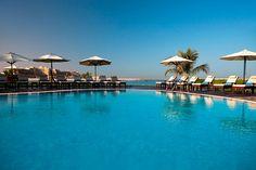 One of the many pools at the #Hilton Ras Al Khaimah Resort, UAE | Weather2Travel.com #uae #travel #luxury #holiday