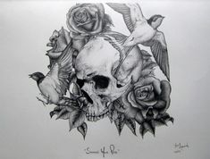 Skull by jacqueline