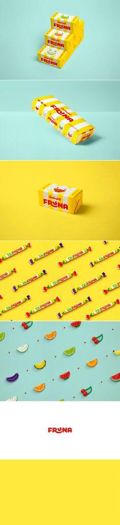 Sweet Treats in the Adorable Fruna Candy Packaging — The Dieline - Branding & Packaging Design