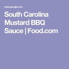 South Carolina Mustard BBQ Sauce | Food.com