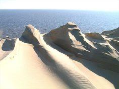 Nida- tallest moving sand dunes in Europe
