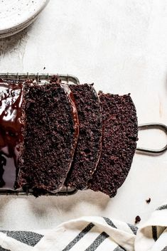 A decadently moist chocolate loaf cake you won't forget.