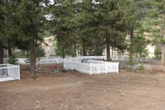 The pioneer cemetery of Granite Creek.  This cemetery is recognized as an historic site by the Regional District of Okanagan-Similkameen.