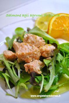 Salmone agli agrumi di Sicilia : un pieno di Omega3