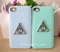Handmade case silver harry potter case iphone 4 by AlibabaDesign, $1.10