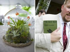 terrariums for the tables