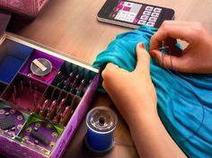 "Wearable Technology ""Hello World"" DIY Kit Teaches Preteen Girls About Wearable Technology"
