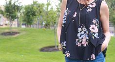 Magnolia Post Floral Tank Fall Lookbook, Magnolia, Floral Tops, My Style, Women, Fashion, Moda, Top Flowers, Women's