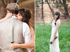 The Hunger Games Wedding Photoshoot Idea