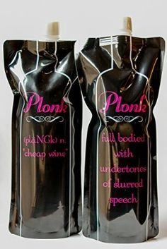 Look what I found on Amazon Portable, Reusable Foldable Wine Bottle Container 750ml (2 pack) Flask to go in a bag! Great gift for Women!