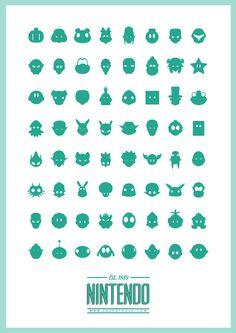Nintendo Tribute Poster on Behance