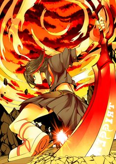 I'll just skip to day 10: I think my favorite fighter anime is kill la kill. It's really cool to see how powerful everyone is. I also like how it's ongoing!