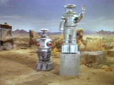 The Robot is the greatest that's why there is a statue of him.