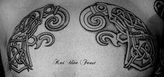 viking dragon head tattoo - Google zoeken