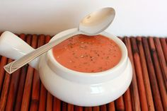 Slow cooker homemade tomato soup. Easy to make, and tastes gourmet. It is wonderful served with cheddar biscuits and a drizzle of chili oil to spice it up. Yum.