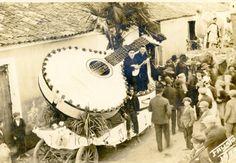 Carnival Day Parade Portugal, Fado float 1928