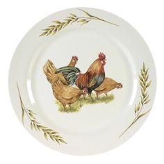 Ontbijtbord Chicken together 24cm - Borden - Servies - World Of Jet