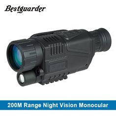 5X40 Tactical Digital IR Infrared Hunting Night Vision Goggles Scope Night Vision Monocular Hunt Night Riflescope Telescope