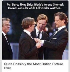 Quite possibly the most British picture ever