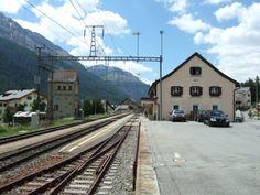 Zuoz, Railway Station, Switzerland