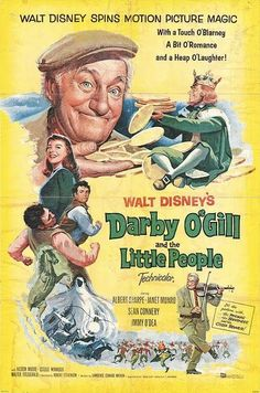 Darby O'Gill and the Little People 1959.  We watched every time it was on TV... I think this scared my sister a little