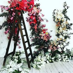 Floral inspiration for an upcoming shoot by #thestudiobyfleur