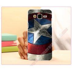 Carcasa plástica diseño capitán América para Galaxy J5