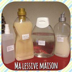 Comment fabriquer sa lessive maison au savon de Marseille avec des ingrédients simples et sains comme le faisaient nos grand-mères