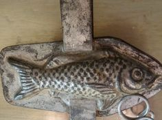 Vintage French Fish Chocolate Mold by AbbyinFrance on Etsy, $34.89