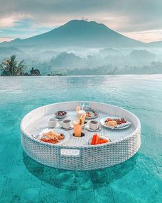 Morning in Bali by 🌴💦✨ Romantic Places, Beautiful Places To Travel, Cool Places To Visit, Places To Go, Bali Travel, Luxury Travel, Bali Holidays, Destination Voyage, Travel Aesthetic