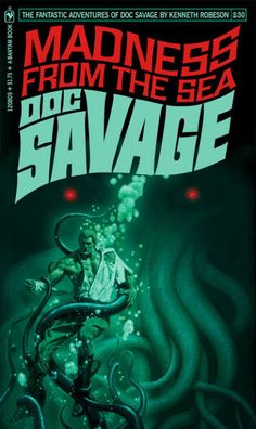 Cool Art: Fantasy 'Doc Savage' Covers by Keith Wilson (clickthrough for more)