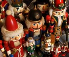 nutcrackers. Every year I get one for each of my sons and date it. One day when they have a place of their own they will each have a nice collection.