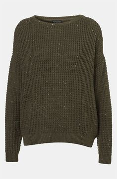 Topshop Speckled Sweater available at #Nordstrom