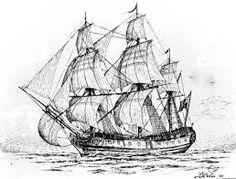 Image result for pirate ship illustration