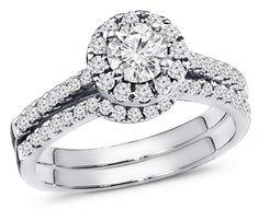 .50 Carat Diamond Engagement Ring Set