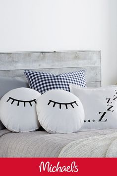 Make This Sleeping Decor Pillows Project It Is A Cute DIY Home Decor Craft.  Diy