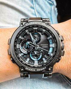 Man Watches, Hublot Watches, Tictac, Time Zones, G Shock, Cool Tools, Swatch, Jewelery, Clock