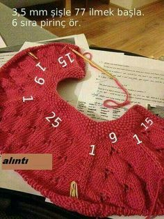 Number of Stiches for a cardigan starting from the neck. Diy knitting pattern for number of Stiches around the neck on a cardigan.Baby Knitting Patterns Cardigan Baby girl jacket: top down ragDiscover thousands of images about Y [ Knitted baby cardig Baby Knitting Patterns, Knitting Baby Girl, Knitting For Kids, Knitting Stitches, Knit Baby Dress, Crochet Baby Cardigan, Knit Baby Sweaters, Cardigan Pattern, Cardigan Sweaters